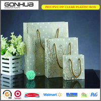 Shopping PP Plastic Waterproof Environmental Packaging Bag for Promotional Gift