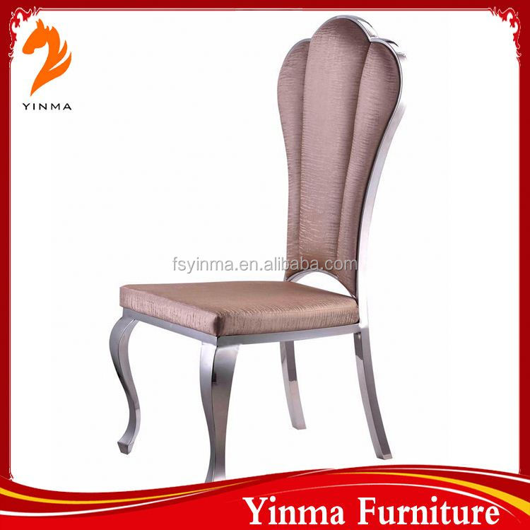 2015 best sale ready made round back black fabric dining chair for sale