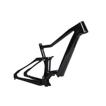 2018 chinese Baolijia Bikes parts mountain frame 36V Bafang Motor And Battery mtb carbon fiber e bike frame E-02