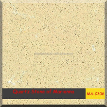 polished stone tile heat resistance solid quartz countertop
