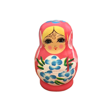 FQ brand wholesale custom Matryoshka doll,hand draw varnished russian nesting doll wooden Russian nesting