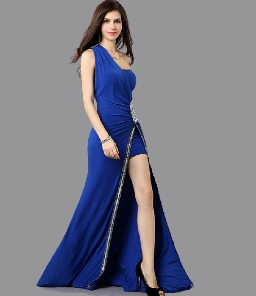 Long Sleeveless Formal Evening Party night gown evening prom dress party dress patterns for bridesmaids dresses