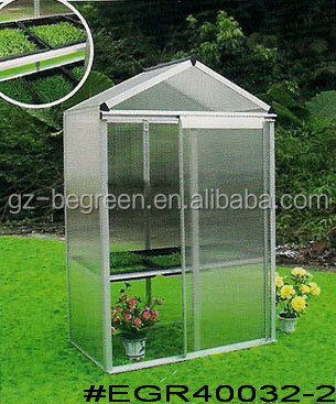 Polycarbonate Mini Blacony Use Garden Use Cold Frame Greenhouse