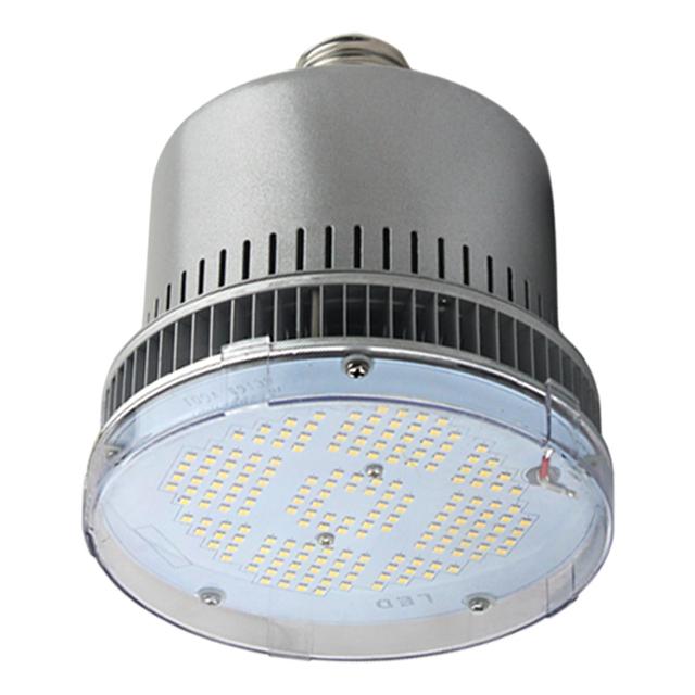 Anti-glare E40 Base Highbay LED light, 150LM/W 90W LED High Bay Retrofit Lamp