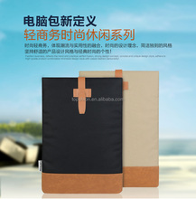 Top quality laoptop canvas fabric sleeve, for macbook handbag sleeve bag protective case cover