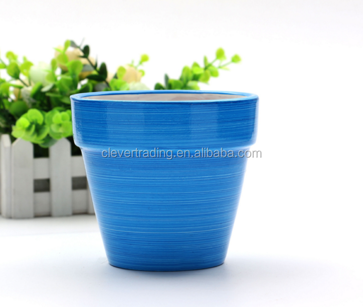 colored Clay Small Terracotta Plant Flower Pot