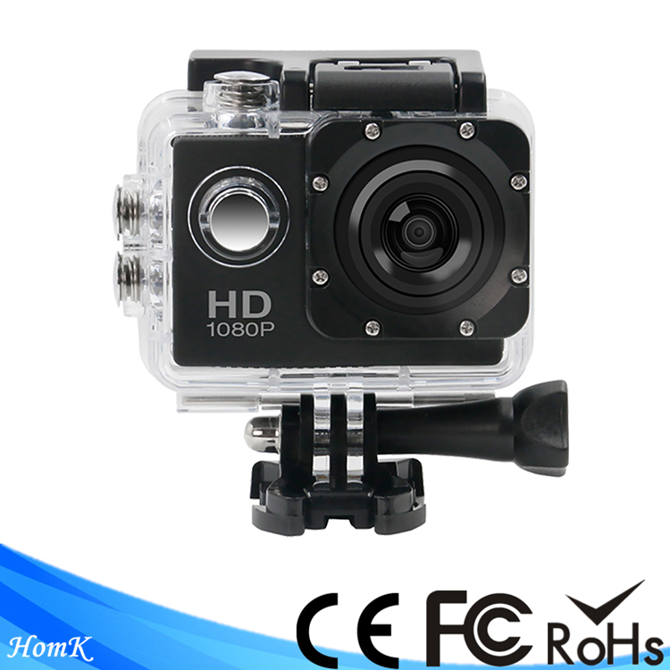 A7 factory big promotion hd 720p waterproof dv zoom action <strong>camera</strong> for youth sports