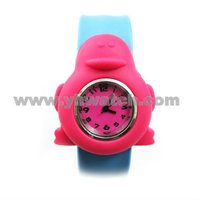Customized Silicone Children Slap On Watches
