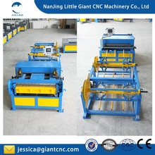 HVAC air duct manufacturing machine ,Low price flexible aluminium tube making machine