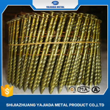 Cheap Price Screw Shank Coil Nails/Coil Wire Nails Factory
