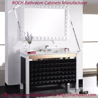 ROCH 8001 Low Cost Euro Style Granite Vanity Top Bathroom Furniture