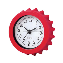 China Supplier Small Round Analog Table Alarm Clock with Time Display