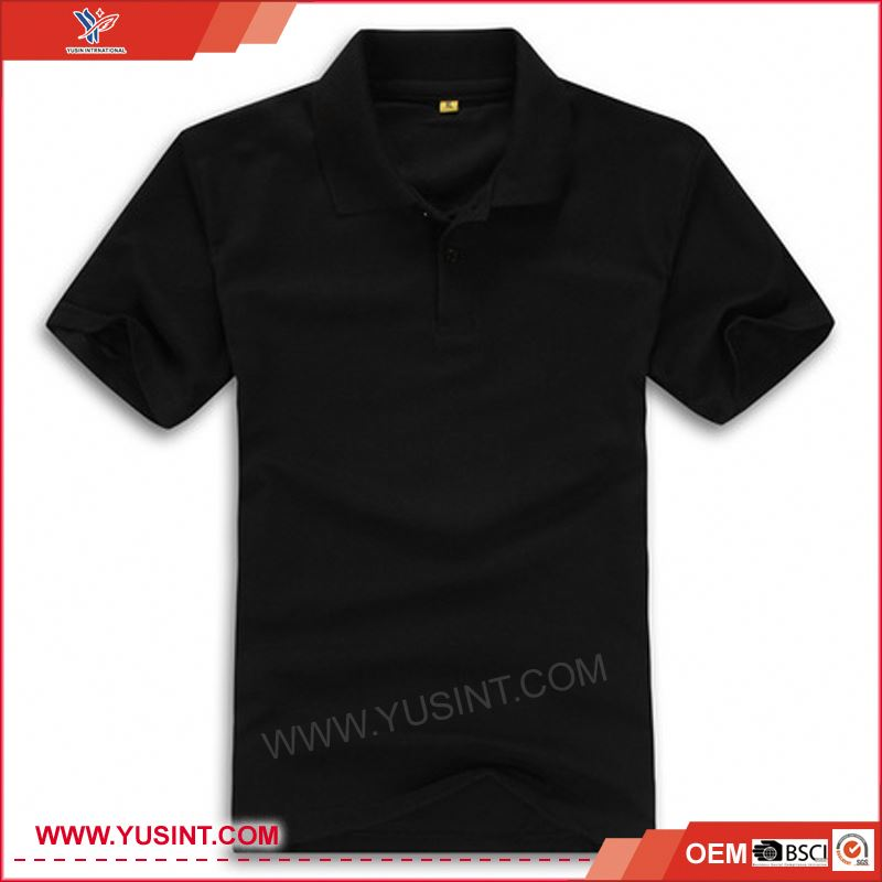 bamboo clothing newest design 100% cotton pique polo shirt