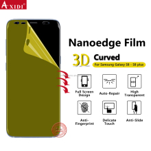 3D Curved Edge TPU Screen Protector for Samsung Galaxy S8 Plus Covered Extra Durable