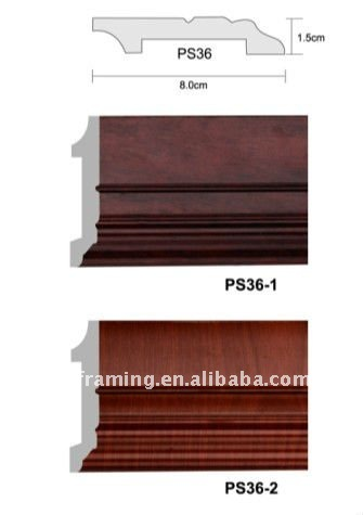 PS chair rail moulding/Skirting Board