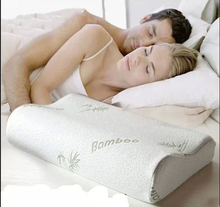 YS-264Hotel comfort bamboo covered anti-snoring shredded memory foam pillow