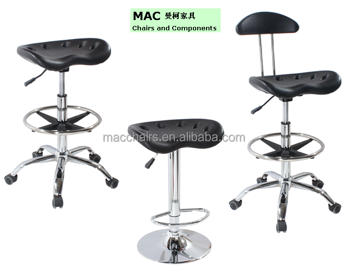 Used Height adjustable Lab Chair / Industrial Stools 5009-2H