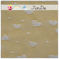 Small love heart pattern dentelle lace fabric for clothes accessories
