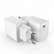 18w PD type C wall charger with EU plug & CE certificate & 5v 3a/9v 2a/12v 1.5a output for android cellphones or iphones