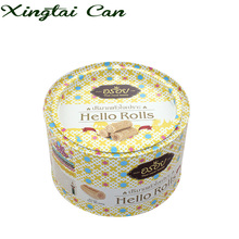 Competitive Price Of 400g Food Safe Round Metal Tin Can With Easy Open Lid