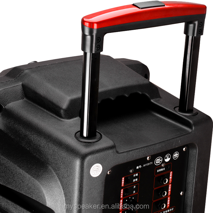 High end portable party trolley speaker