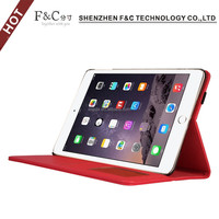 New Arrival 3 Colors Tablet Leather Flip Cover For iPad Mini 4,Cover For iPad Mini 4