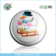 Hot selling Christmas gift craft music buttons voice message button on sale