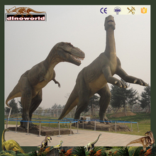 DW-0747 Outdoor equipment zigong animated life size dinosaur