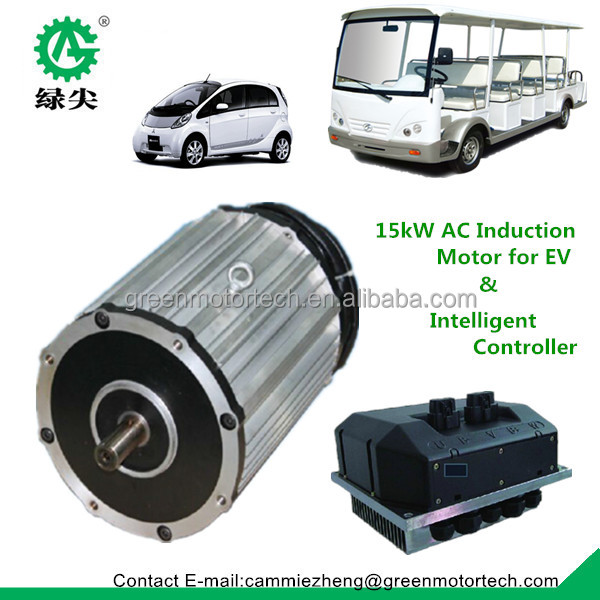 High Speed Electric Car Motor And Controller 25kw Electric