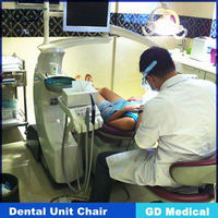 GD Medical DDU-ANNA CE Approved dental unit with high volume suction
