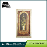 Most Popular Frame Art Modern Italian Art Painting Wooden Modern Art Paintings for Sale