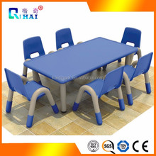 Good Quality Ergonomic Height Adjustable Folding Assemble Child Study Table And Chair Set