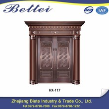 China wholesale vented exterior copper security door