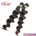 XBL Newest Popular Loose Wave Can Be Dyeable 100% Luxury Remy Human Hair Weft