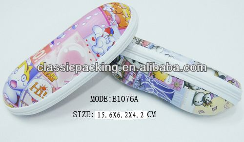 2014 New Style leather glasse case, funky hard glasses case,eva glasses case bags