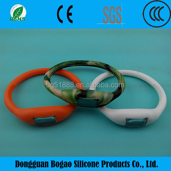 2015 hot Popular silicone wristband pedometer