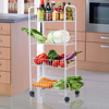 Metal Kitchen Serving Trolley Cart Kitchen