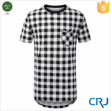 OEM plain no brand single jersey t-shirt for man