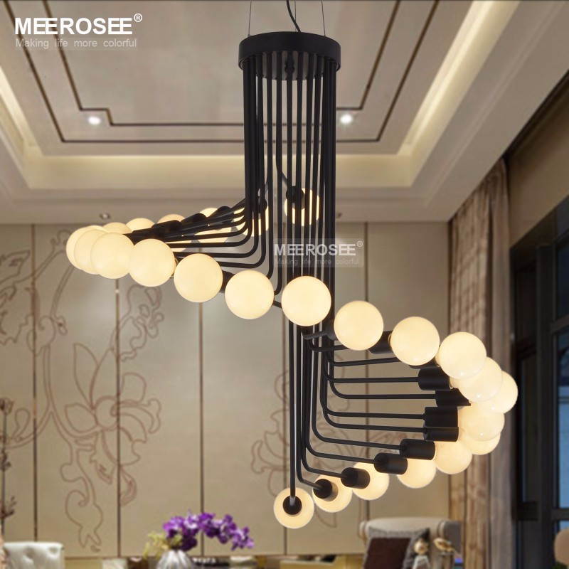 Modernas lámparas de iluminación creativa Metal Lustres colgando ...