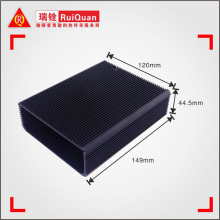 China manufacturer water proof LED aluminum extrusion enclosure/ aluminum housing/LED housing for electronic ballast