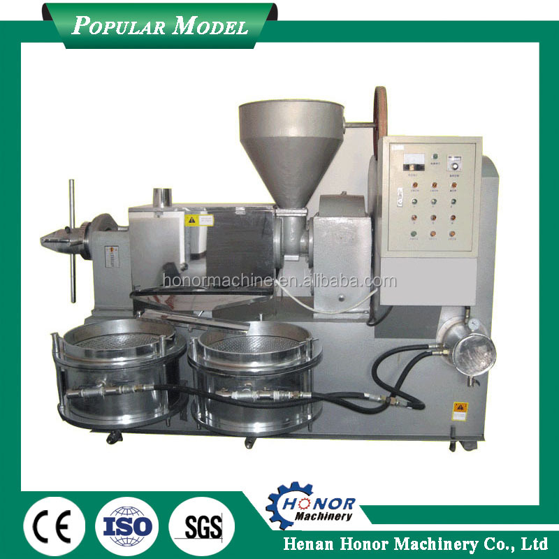 Virgin Coconut Oil Making Machinery/Palm Oil Processing Equipment /Worm Screw Oil Press