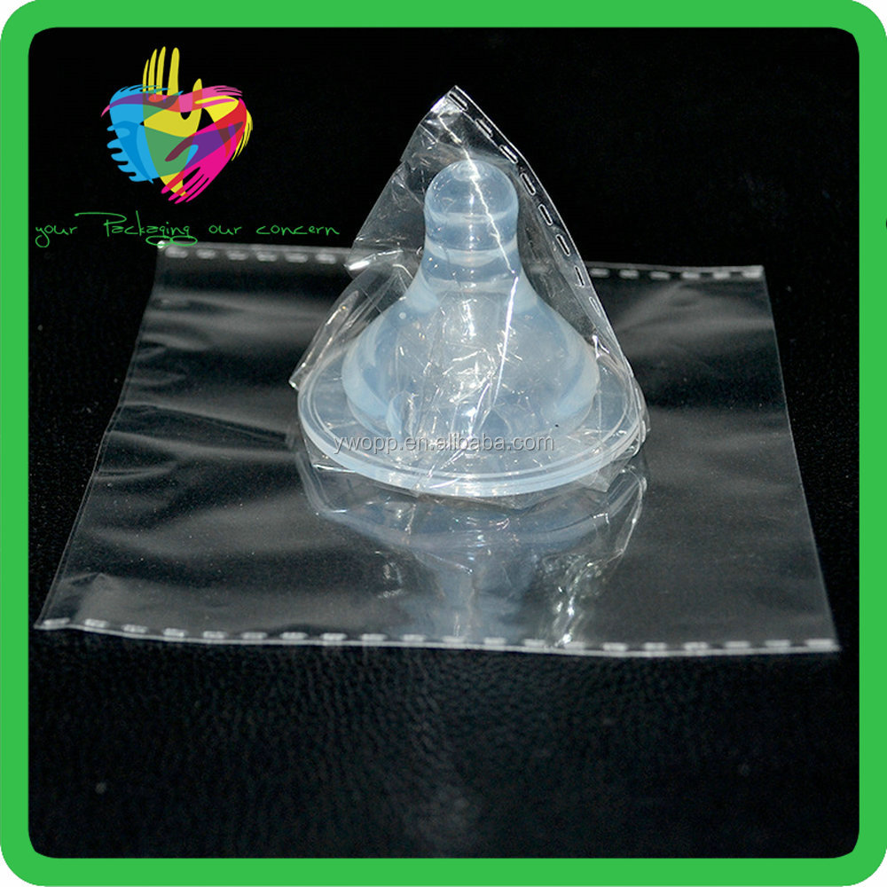 Opp transparent plastic self adhesive toy bags made in china