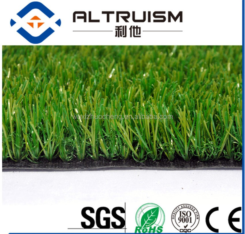 25mm factory direct sell garden putting green with very comfortable feeling