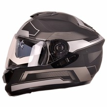 New decals dual visor full face cascos motorcycle classic helmets