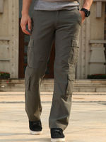 2016 mens comfortable cargo trousers