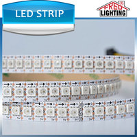 APA102 144 led pixel strip addressable 5050 full color flexible RGB Led Strip 5VDC 144leds/m, IP20 Non-waterproof