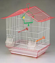 new design brazil artificial folded bird cages wholesaler 1601A