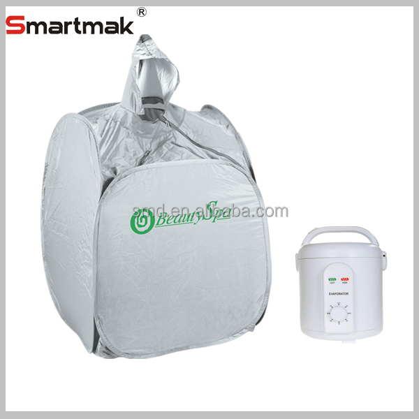 portable steam sauna beauty spa, PVC sauna suit