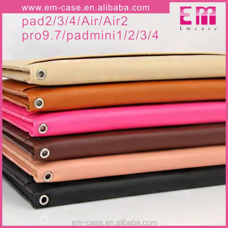 Multi-use PU leather cover case for iPad mini1234,card case for ipad pro