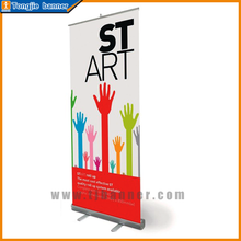Custom professional 85x200 cm vinyl banner pull up stand